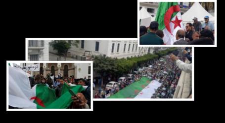 الحراك الشعبي في جمعته ال14 يرفض الإنتخابات و رموز النظام
