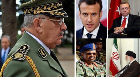 تفاعل قيادة الجيش  مع الحراك الشعبي في الجزائر مقارنة بإيران، فرنسا، تركيا و السودان