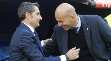 زيدان يدافع عن فالفيردي بعد الخيبة القارية لبرشلونة