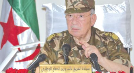 الفريق قايد صالح، خطاب بين التحليل و التحذير