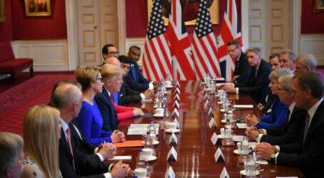 """ترامب يتعهد باتفاق تجاري """"مهم للغاية"""" مع بريطانيا بعد بريكست"""
