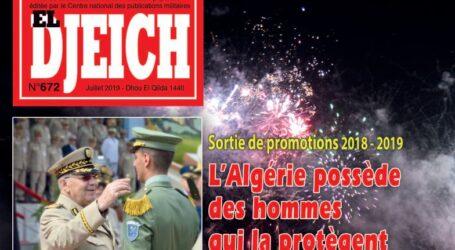 مجلة الجيش تؤكد، لا طموح سياسي للمؤسسة العسكرية كما يروّجه العُملآء
