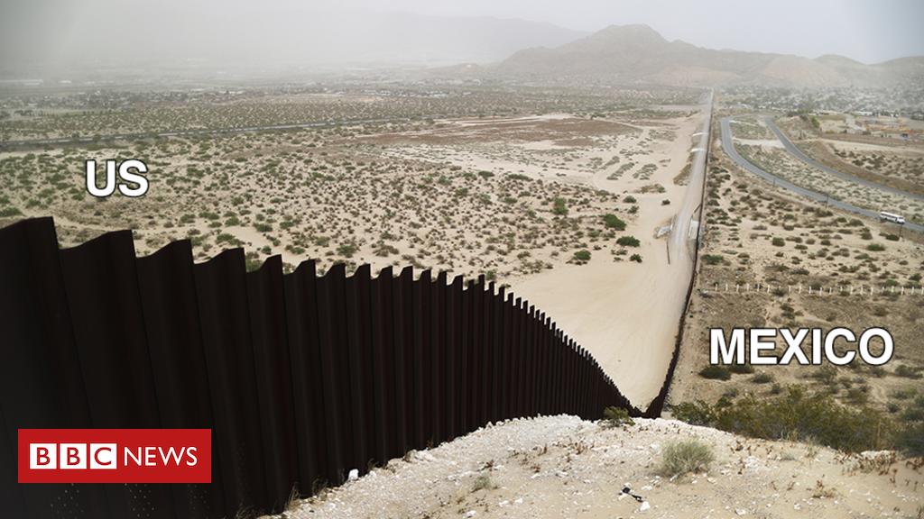 الحدود_الأمريكية_و_المكسيك