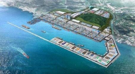 ميناء الوسط, إنجاز مراطوني و أهداف إستراتيجية